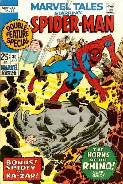 Marvel Tales (2nd Series) #30 FN; Marvel | save on shipping - details inside