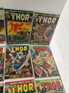 The Mighty Thor 201 202 203 205 208 213 214 215 216 218 219 221 222 223 Vf+ A22