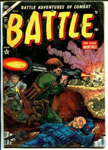 Battle #27 1954-Atlas-Joe Maneely-bazooka-Monte Cassino-Battle Brady-VG
