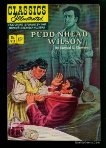 Classics Illustrated #93 FN 6.0 HRN 94