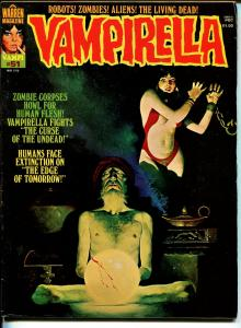 Vampirella #51 1976-Warren-Vampi cover-terror & horror stories-FN-