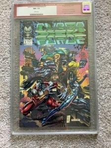 Cyberforce Limited Series 1 CGC 9.6 White 1st Cyberforce Marc Silvestri