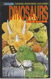 Dinosaurs For Hire (Eternity) #1 (2nd) FN; Eternity | save on shipping - details