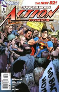 Action Comics (2nd Series) #3 VF/NM; DC | save on shipping - details inside