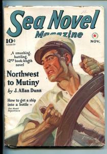 Sea Novel Pulp #1 November 1940- Belarski cover- Southern States