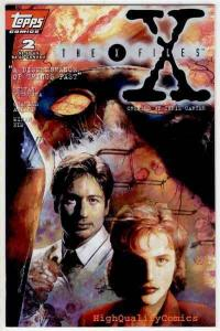 X-FILES #2, VF/NM, Dana Scully, 1st,  Fox Mulder, Carter, 1995, more XF in store