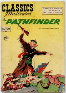Classics Illustrated #22 HRN 85 - Pathfinder  VG 4.0