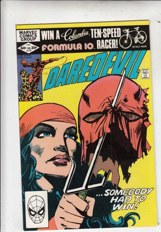 Daredevil #179 (Feb-82) NM/NM- High-Grade Daredevil