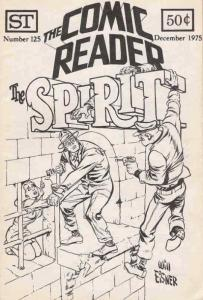 Comic Reader, The #125 VF; Street Enterprises | save on shipping - details insid