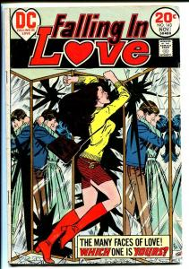 FALLING IN LOVE #123 1973-DC ROMANCE COMICS VG