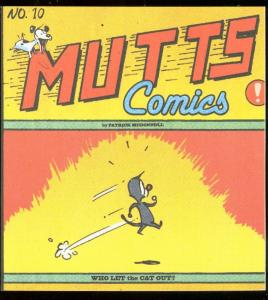 MUTTS VOL 10 TRADE PAPERBACK-MCDONNELL-LET CAT OUT VF/NM