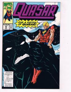 Quasar (1989) #45 Marvel Comic Book Presence Neutron Mark GruenwaldHH4 AD38