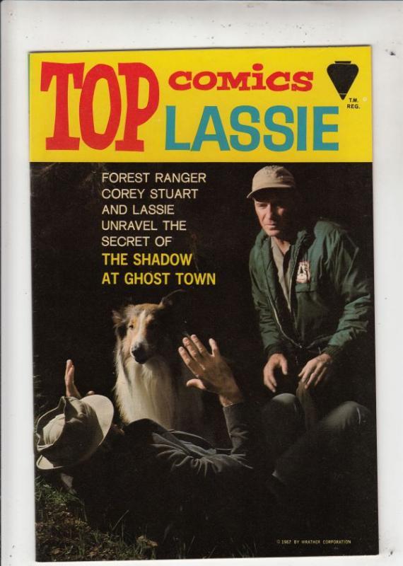 Lassie, Top Comics  #1 (Jan-67) NM/NM- High-Grade Lassie, Forest Ranger Corey