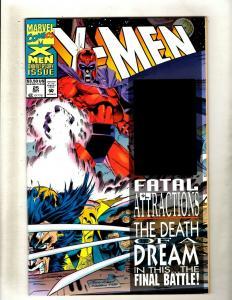 Lot of 12 X-Men Marvel Comic Books #25 44 45 47 52 53 58 59 60 61 62 65 HY7