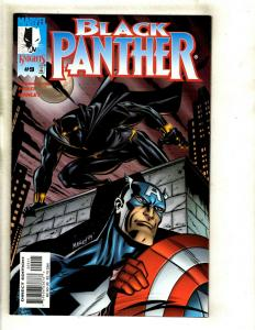 Lot Of 6 Black Panther Marvel Comic Books # 9 10 11 12 13 14 Wakanda GK2