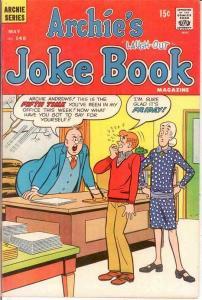 ARCHIES JOKE BOOK (1954-1982)148 VF May 1970 COMICS BOOK