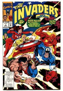 Invaders #1-1993-First DOCTOR NEMISIS-Marvel Legion TV Show