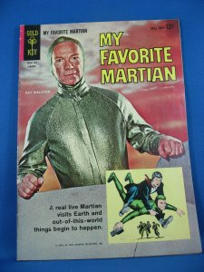 MY FAVORITE MARTIAN 1 Fine Photo Cover Manning 1964
