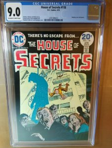 House Of Secrets #118 CGC Universal Grade 9.0 VF/NM off-white to white pages