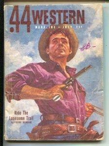 .44 Western 7/1951-Popular-Frank Bonham, Bennett Foster and others-Western pu...