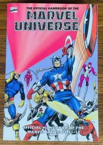 RARE ESSENTIAL OFFICIAL HANDBOOK OF THE MARVEL UNIVERSE VOLUME 1 #1-15 BOOK 2006