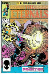 Eternals #3 (Marvel, 1985) VF-