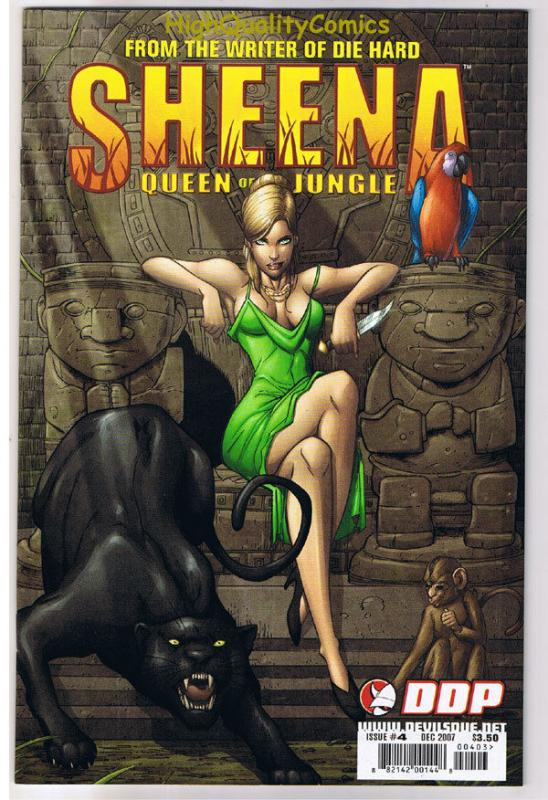SHEENA QUEEN of the JUNGLE #4, NM+, Femme Fatale, 2007, more in store