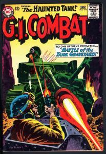 G.I. COMBAT #109 1964- THE HAUNTED TANK-KUBERT-HEATH-HIGH GRADE