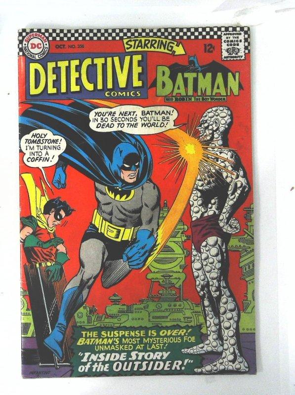 Detective Comics (1937 series) #356, Fine (Actual scan)