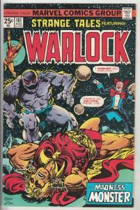 Strange Tales #181 (Aug-75) FN+ Mid-Grade Adam Warlock