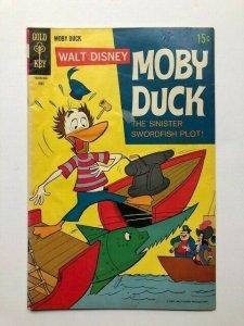 Gold Key Walt Disney MOBY DUCK #3 Low grade (A275M)