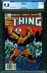 THING #1 1983 CGC 9.8 Newsstand edition-Marvel 2038911010