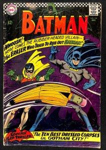Batman #188 1st app Eraser