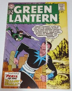 Green Lantern #15 (6.5) 1962 2nd SINESTRO Appearance Gil Kane Silver Age DC