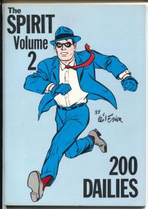 Spirit #2 1980-Ken Pierce-reprints 200 daily strips-Will Eisner-VF