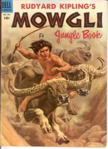 MOWGLI JUNGLE BOOK F.C. 582 VG-F 1954 COMICS BOOK