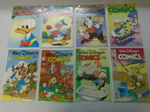 Walt Disneys Comics lot from #516-594 33 different issues average 8.0/VF (1987-9