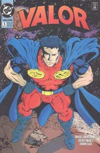 Valor (1992 series) #5, NM (Stock photo)