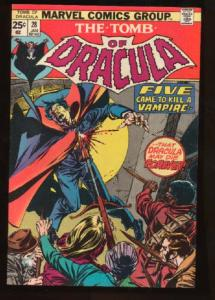 Tomb of Dracula (1972 series) #28, VF+ (Actual scan)