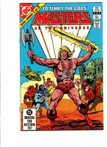 Masters of the Universe  #1 - mini-series - He-Man - 1982 - (-Near Mint)