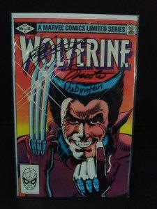 Wolverine #1 (1982) Limited Series - 3X Signed - Claremont/Rubinsten/Shooter 9.6