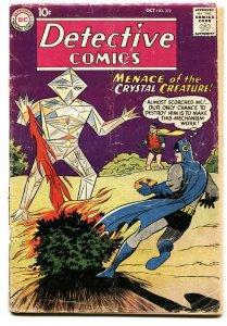 DETECTIVE COMICS #272 1959 BATMAN ROBIN DC CRYSTAL CREATURE-G