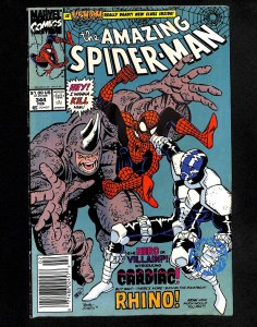 Amazing Spider-Man #344 1st Cletus Kasady (Carnage)!