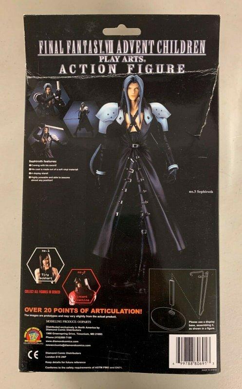 Final Fantasy VII Advent Children No. 3 Sephiroth Play Arts Action Figure