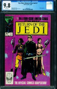 Star Wars The Return of the Jedi #1-1983 CGC 9.8 - 1998431012
