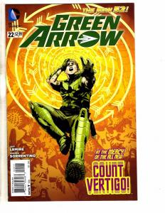 Lot Of 5 Green Arrow DC Comic Books # 22 23 23.12 4 25 Arrow Batman Flash J237