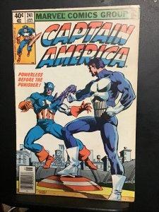 Captain America #241 (1980) high-grade punisher key! VF/NM Wow Oregon CERT.