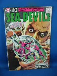 SEA DEVILS 2 VG 1963