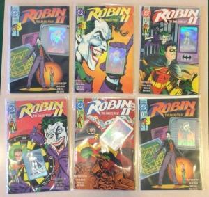 Robin 2 The Jokers Wild 1-4 Plus All Variants Near Mint Complete Lot Set Run