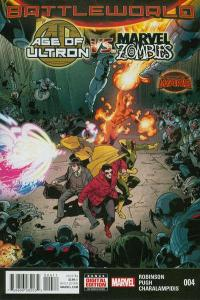 Age of Ultron vs. Marvel Zombies #4, NM (Stock photo)